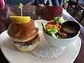Elements on the Falls Restaurant Trout Sandwich (36345862971).jpg