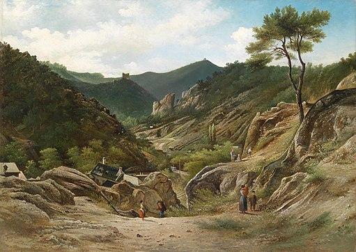 Elias Pieter van Bommel Die Klausen in Mödling 1888