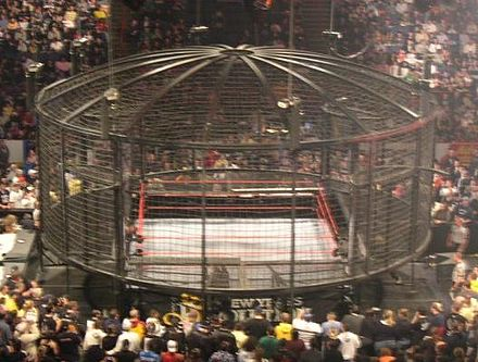 The Elimination Chamber structure Elimination chamber nyr06.jpg