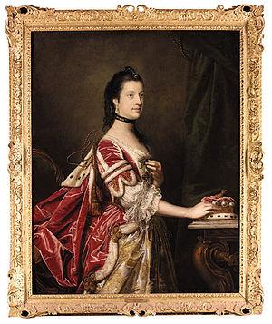 Elizabeth Percy, Duchess of Northumberland - Elizabeth Percy, Duchess of Northumberland, portrait by Joshua Reynolds.