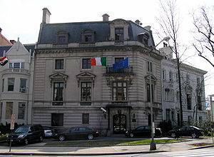 Foreign relations of the Republic of Ireland - Embassy of Ireland to the US, in Washington, D.C.