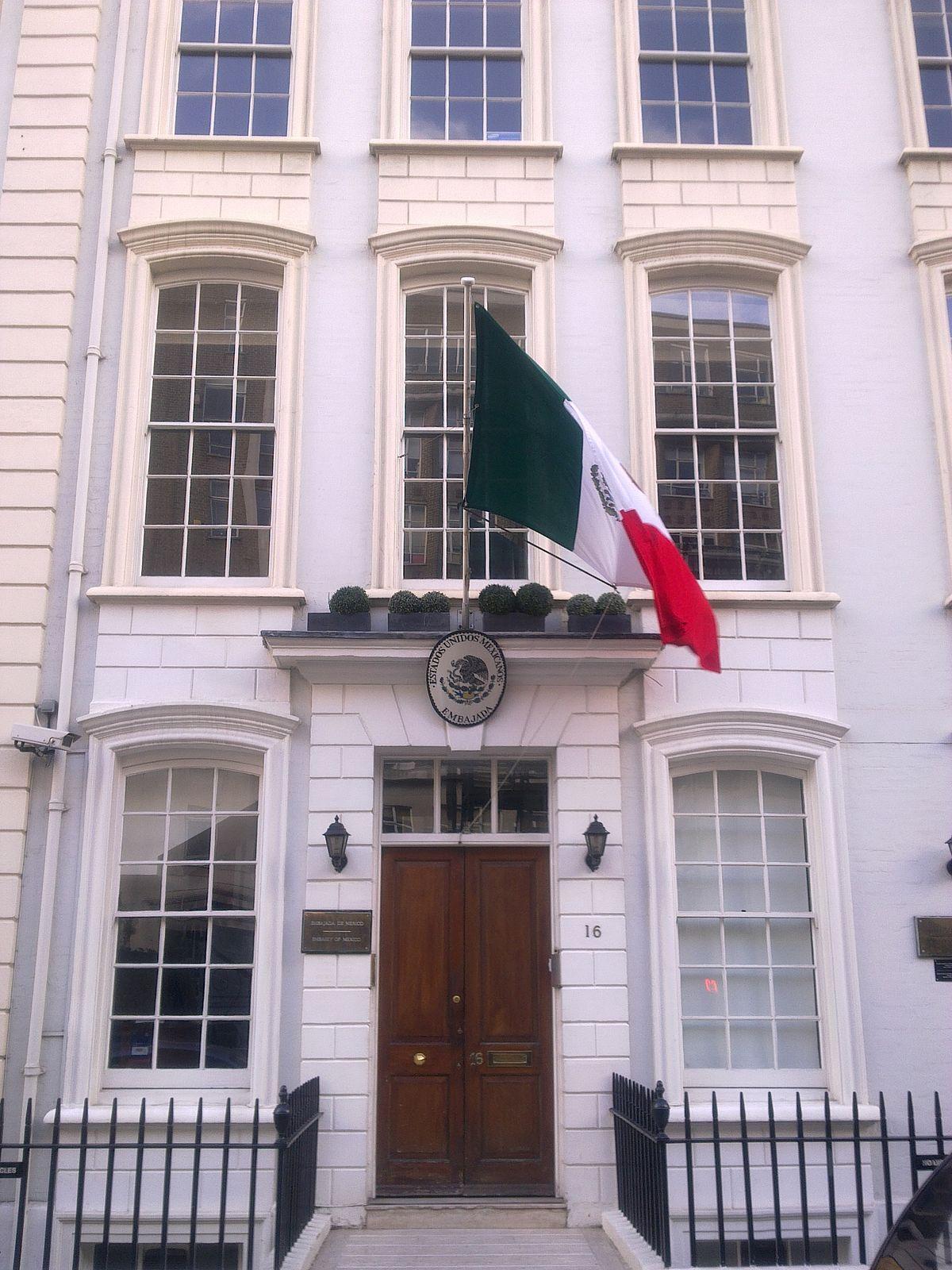 embassy of mexico  london