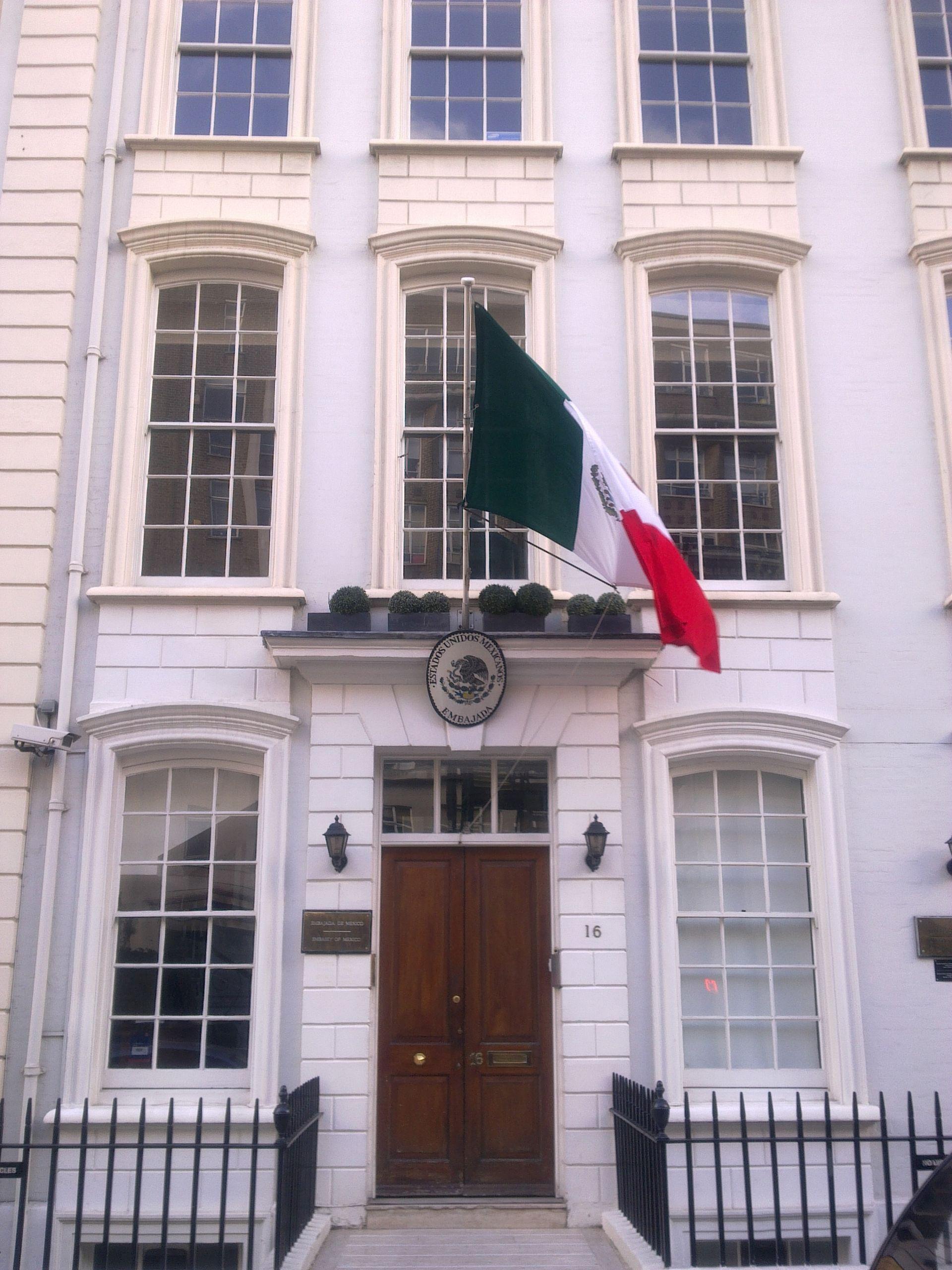 Embassy Of Mexico, London