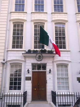 Embassy of Mexico, London - Image: Embassy of Mexico in London 1