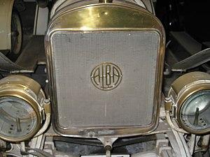 Alba (1913 automobile) - Alba emblem