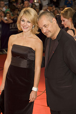 Emilie Dequenne and Jean-Pierre Jeunet at the 2009 Deauville American Film Festival-01.jpg