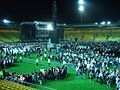 End of the concert, Westpac Stadium.jpg