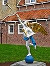 engel binnenplaats binnenmuseum enkhuizen