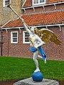 Engel binnenplaats Binnenmuseum Enkhuizen.jpg