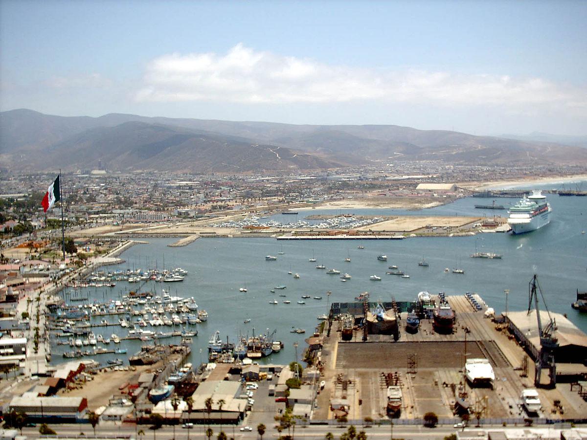 Port Of Ensenada Wikipedia - Cruise to ensenada