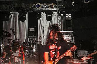 Maximum the Hormone - Maximum the Hormone performing in 2008.