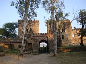 Nurpur State - Entrance to the Nurpur fort