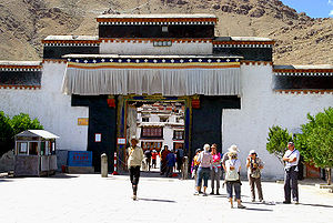 Entrance to Tashilhunpo Monastery.jpg