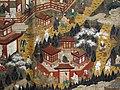 Epoca edo, pellegrinaggio al santuario di kumano, xvii sec. 03.JPG