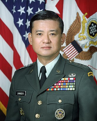 Eric Shinseki - Shinseki as the Chief of Staff of the Army
