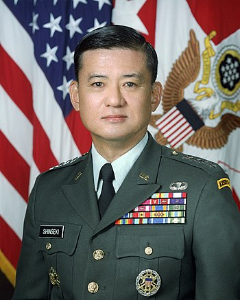 English: Eric K. Shinseki, Official portrait a...