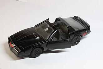 KITT - 1:25 Ertl Company KITT toy model