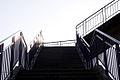 Escalier passerelle Gare Brest.JPG