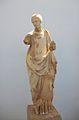Estàtua de nimfa, còpia hel·lenística d'una obra de la primera meitat del segle IV aC. Museu Arqueològic de Delos.JPG