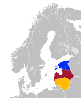 Countries east of the Baltic Sea