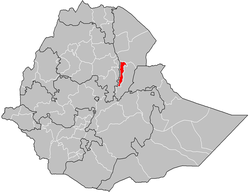 Zone 5 location in Ethiopia