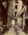 Eugène Atget, Corner of the rue de Seine and the rue de l'Echaudé - Getty Museum.jpg