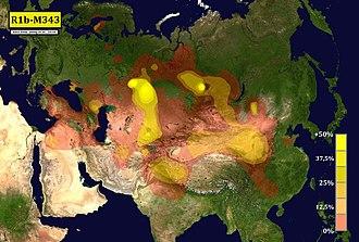 Haplogruppe R1b (Y-DNA) – Wikipedia