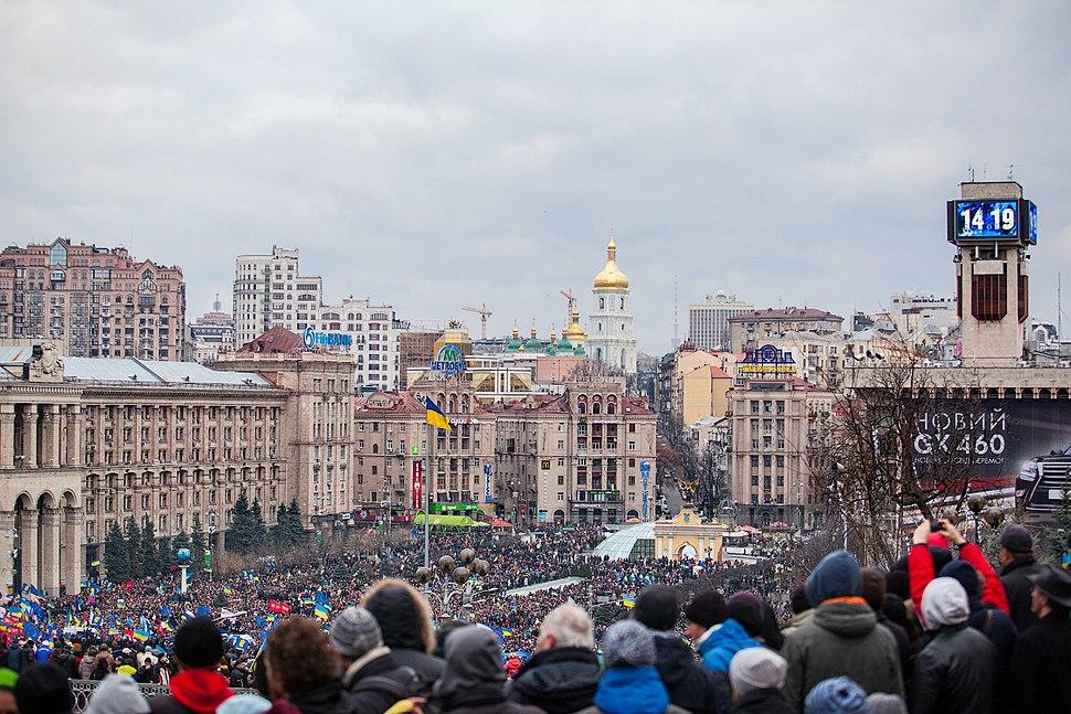 Euromaidan Kyiv 1-12-13 by Gnatoush 009