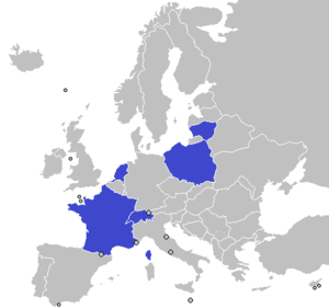 UEC European Track Championships - Hosts of European Track Championships