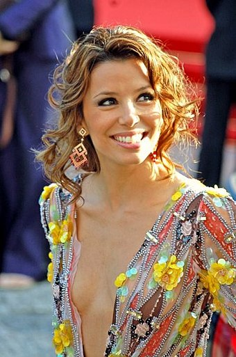 Longoria in 2006 at the Cannes Film Festival premiere of Pan's Labyrinth Eva Longoria Cannes.jpg