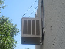exterior air con unit