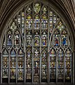 Exeter Cathedral, Quire east window (36717934212).jpg