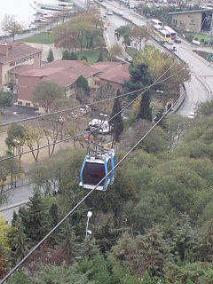 cablecar in Istanbul