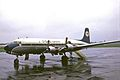 F-BOEV DC-6B Trans Union LGW 10MAY69 (5575533632).jpg