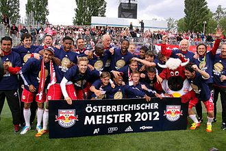 2011–12 Austrian Football Championship - Champions Red Bull Salzburg