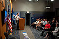 FEMA - 41823 - Matt Campbell speaks with FEMA employees about Long Term Community Recovery in District of Columbia.jpg