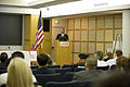 FEMA - 41944 - Federal Coordinating Officer at the podium in California.jpg