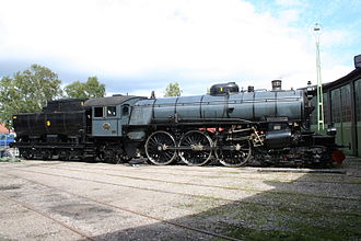 Getå railroad disaster - The F 1200 locomotive in 2008