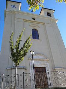 Facciata della chiesa di Santa Croce