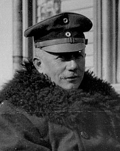 Face detail, from- General count von der Goltz, the Commander of the expeditionary force into Finland. May 1918 - NARA - 17391746 (cropped).jpg