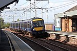 Falkirk High - Abellio 170454 arriving from Glasgow.JPG