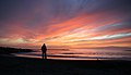 Fanabe Beach sunset and Linda (396643590).jpg
