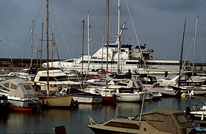 Brighton Marina - Ferry to Fécamp, 1992