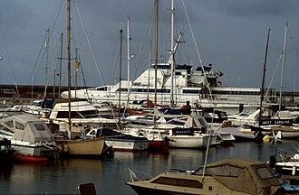 Brighton Marina - Ferry to Fécamp, 1992