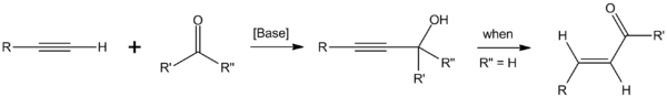 Favorskii reaction and the possible subsequent rearrangement