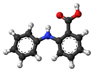 Fenamic acid - Image: Fenamic acid 3D ball