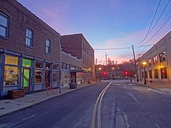 Ferguson's Church Street in 2012