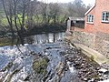 Ffrwd Mochdre oddi ar Bont Mochdre - Mochdre Brook from Mochdre Bridge - geograph.org.uk - 393303.jpg