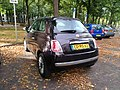 Fiat 500 Netherlands diplomatic plate (Switzerland) (43562280925).jpg