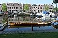 Fiducia reconstructie Romeinse punter de Meern 6 in haven van Woerden.jpg